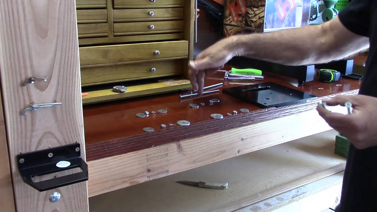 WBR, Video 146, Mounting the Flush Mount Quick Change Base Plate by Inline Fabrication