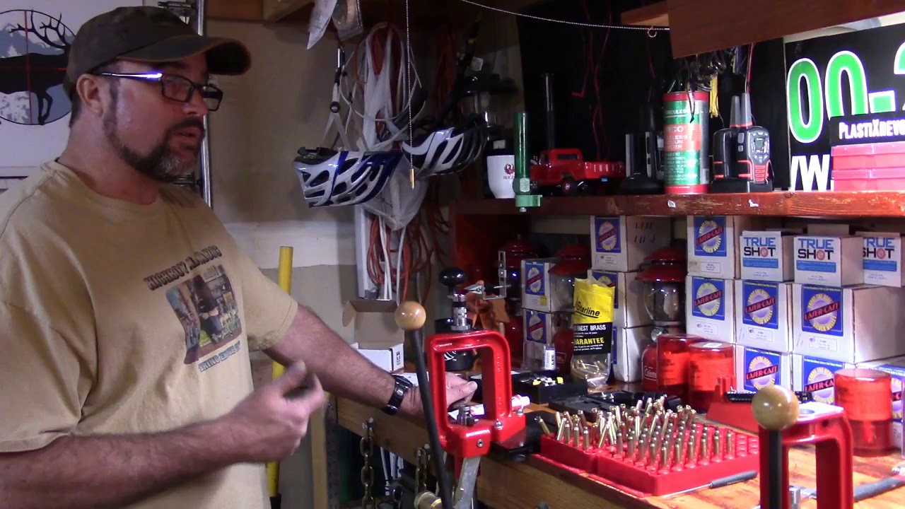 Lee Beginning Reloading, Video 39, Lee Quick Trim, Verify Operation and Set Up of Tool