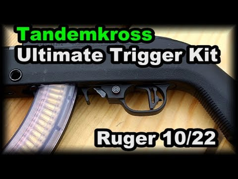 Ruger 1022 ULTIMATE Trigger KIt Tandemkross review
