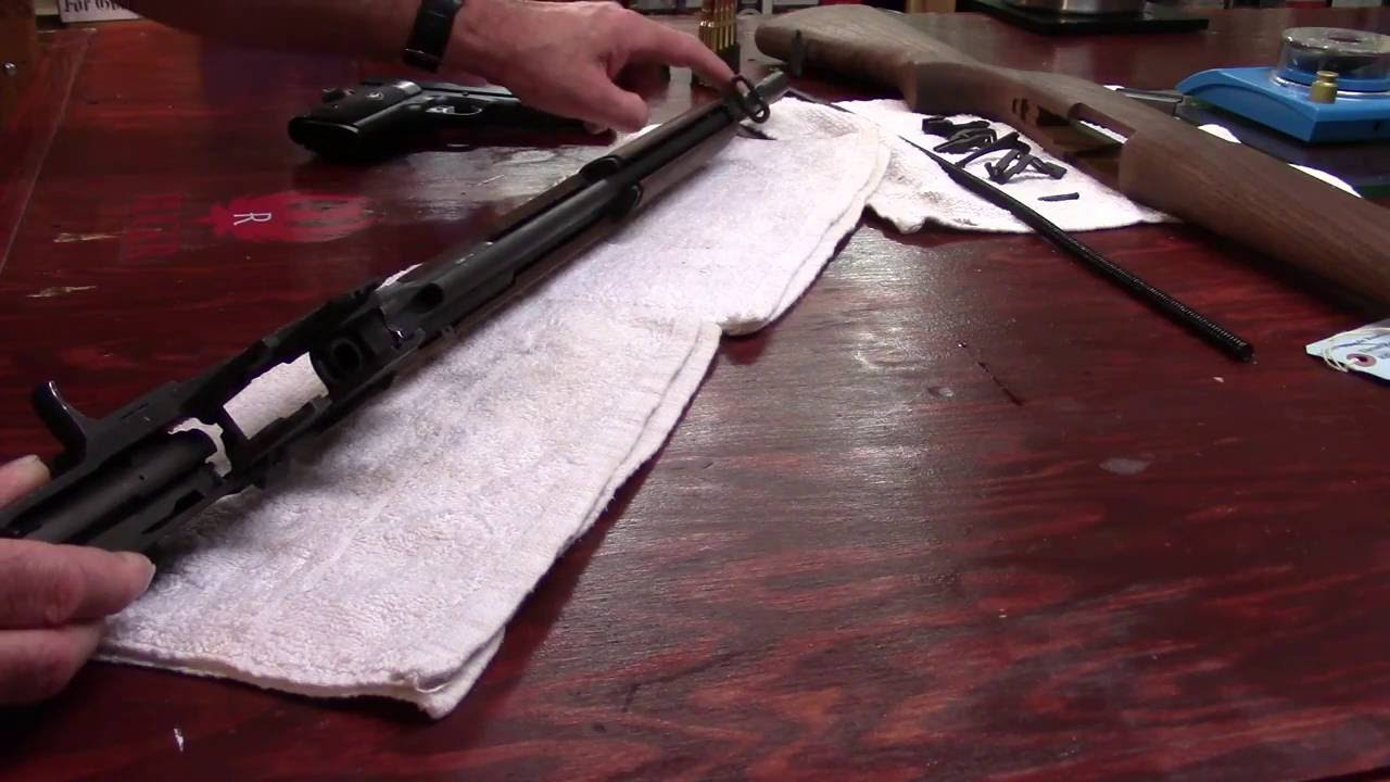 M1 Garand Series, Video 23, Removing the Operating Rod