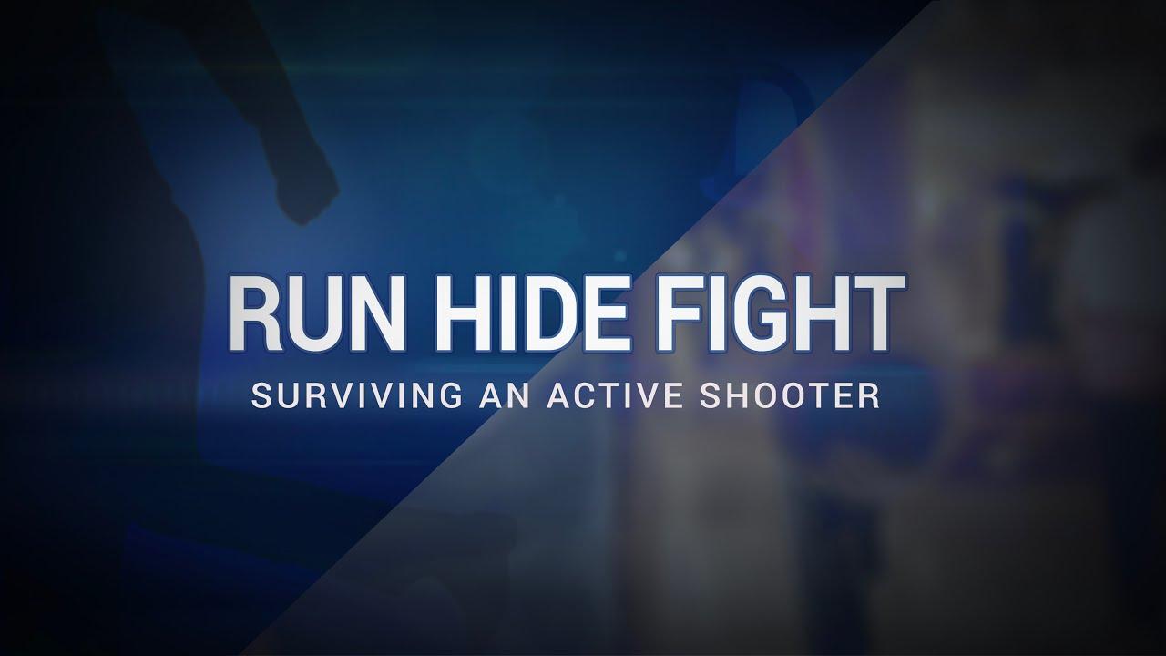 7. Surviving An Active Shooter: Run.Hide.Fight! -  Active Shooter Medic