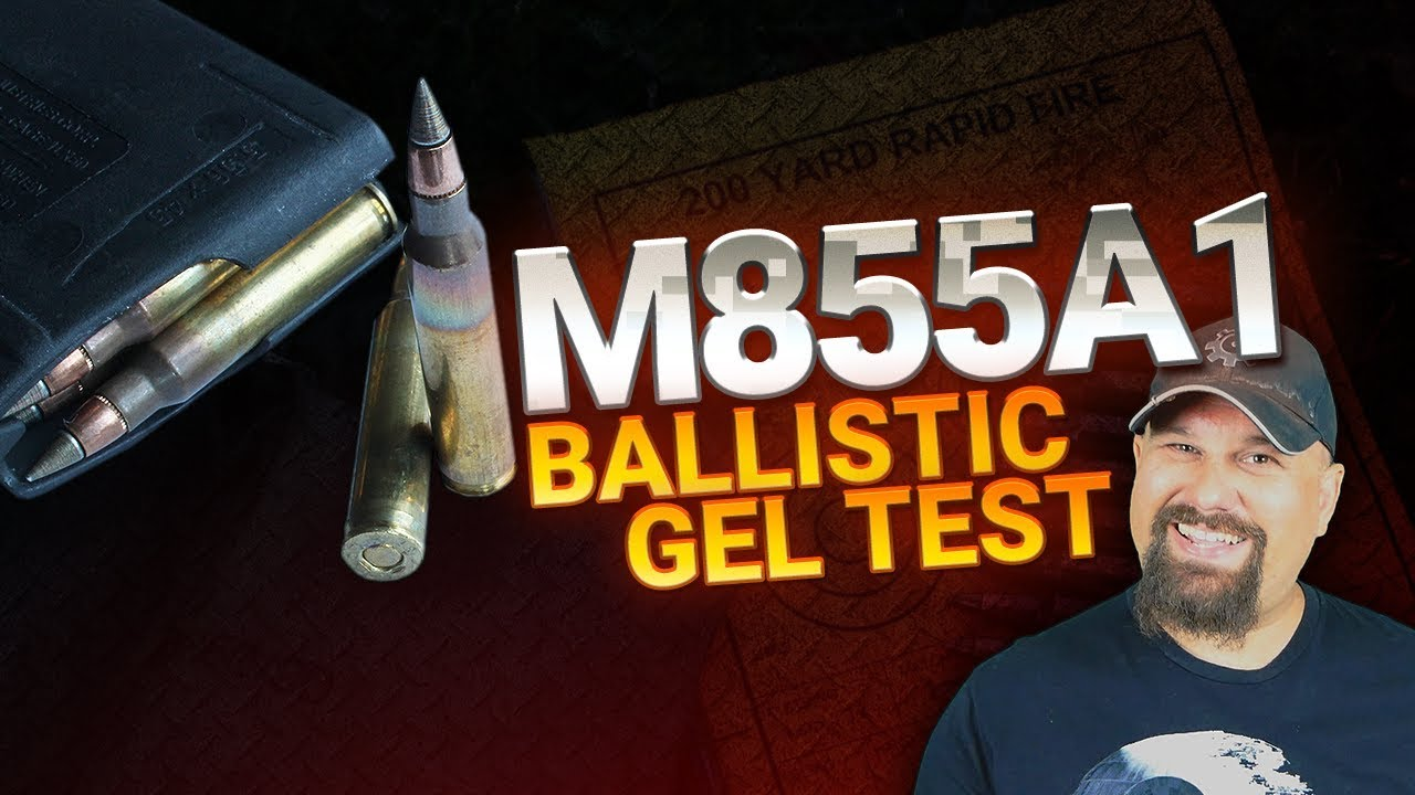 M855A1 Reduced Velocity | Ballistic Gel Test