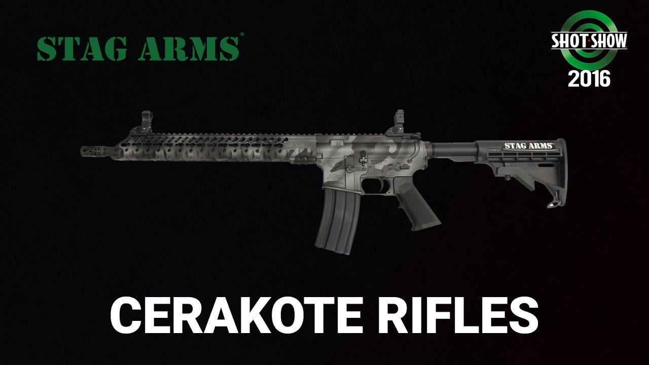 Stag Arms Cerakote - SHOT Show 2016