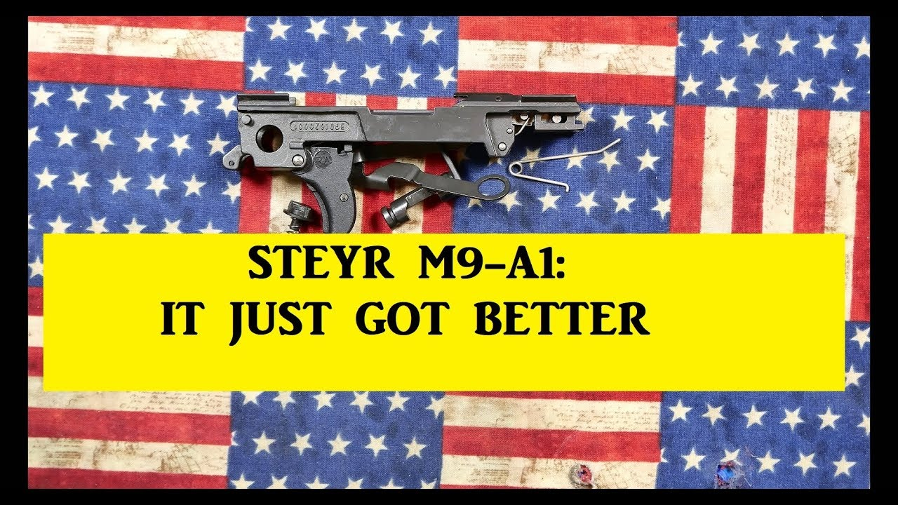 STEYR M9 : A DETAILED RE-ASSEMBLY  AND A NEW SUIT!