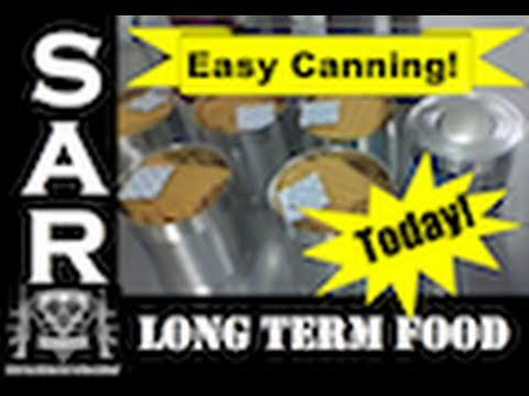 Cannery Visit: Easy Canning for Long Term Food Storage = Save $$$ Today!