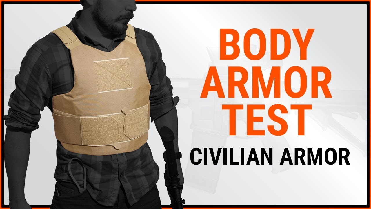 Body Armor Test | Handgun, Magnum, Shotgun, MAC-10, MP5