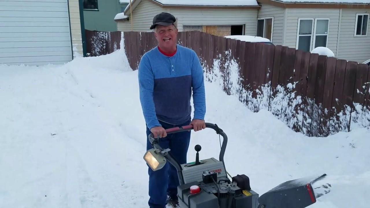 Big Pat Running the Plow