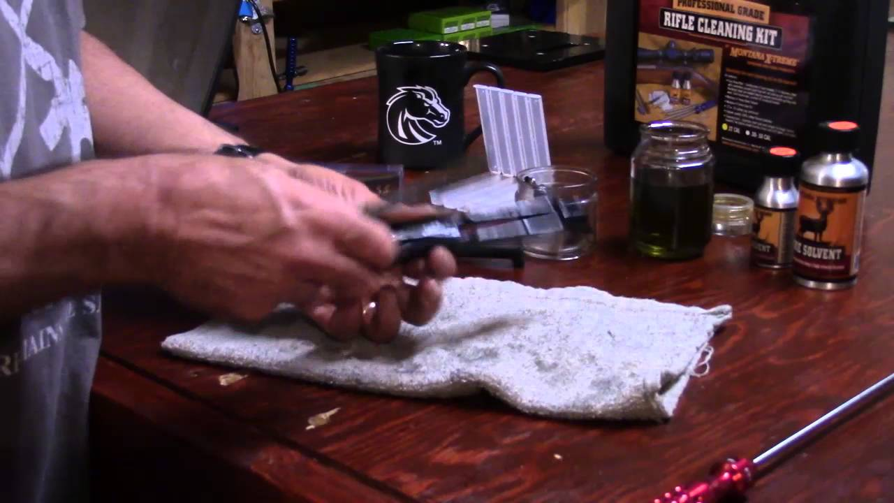 AR-15, 223 Rem. Reloading Series, Video 60, Scrubbing the Bolt Carrier and Bolt Carrier Key