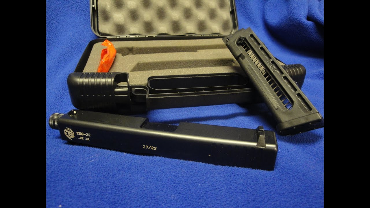 Buds Gun Shop Video Contest / Tactical Solutions .22 conversion kit on a Glock 17