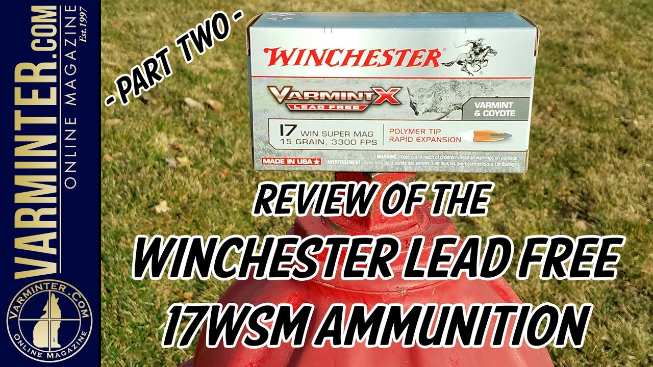 Winchester 17WSM Lead Free Ammunition Review - Part Two