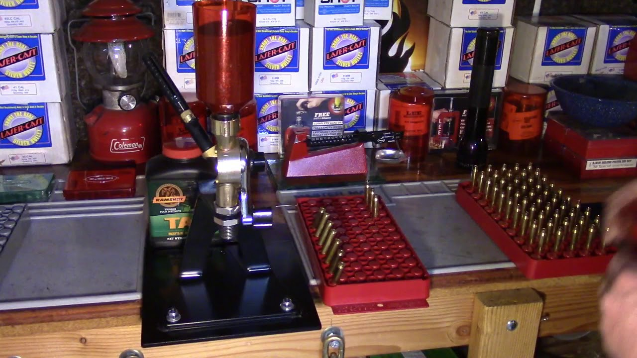 Lee Beginning Reloading, 223/5.56, Video 23, Charging the Cartridge Cases Safely and Consistently
