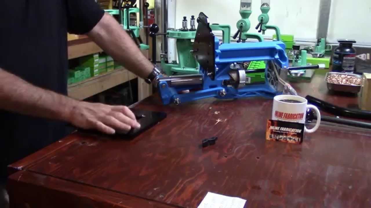 WBR, Video 160, Inline Fabrication Quick Change Press Mounting System for