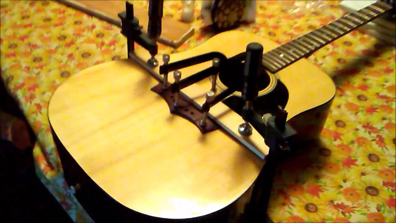Peavey Acoustic Guitar Bridge Repair