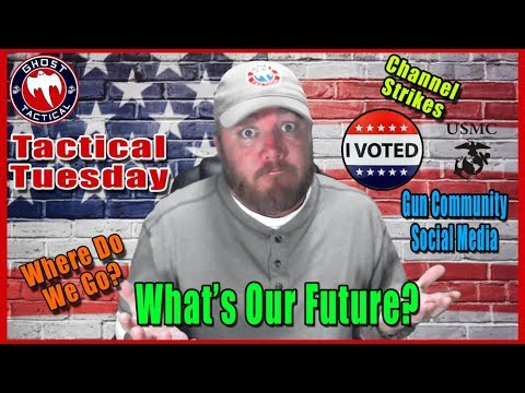 What's The Future of Gun Content on Social Media?  GunStreamer Joins Us:  Tactical Tuesday ep 65