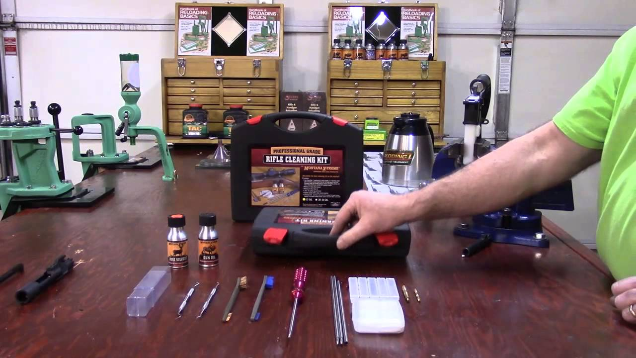 Montana X-Treme Professional Rifle Cleaning Kit for Your AR-15