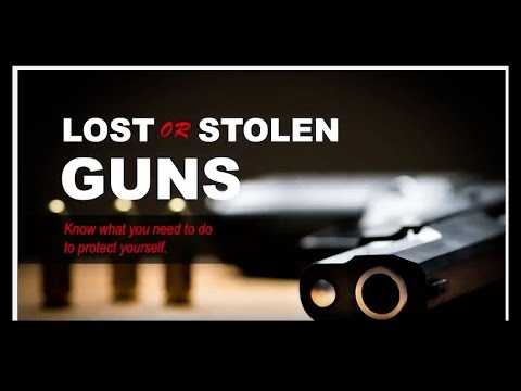 Lost or Stolen Gun in Georgia