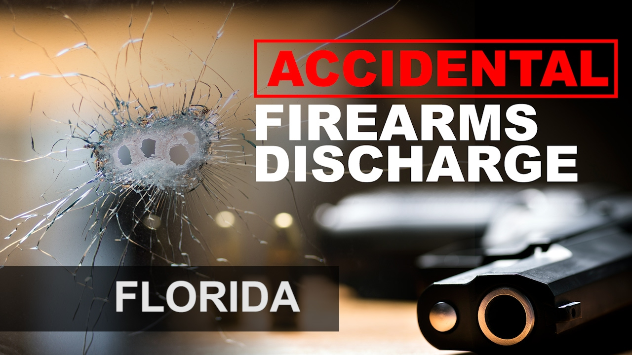 Accidental discharge of a firearm in Florida