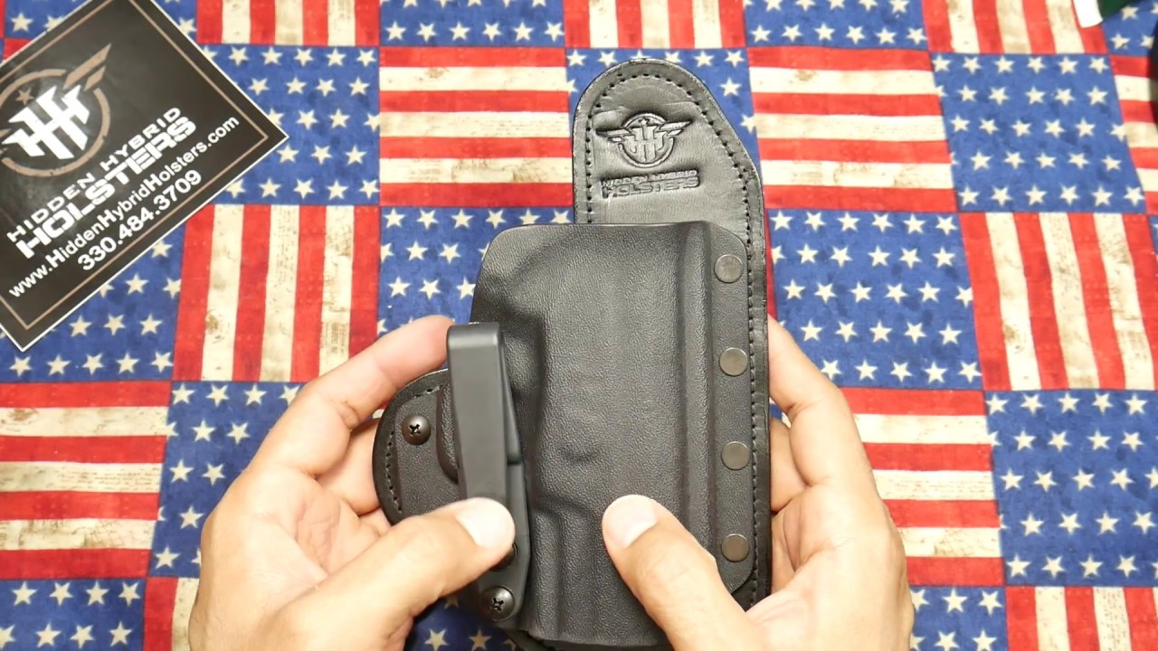 Hidden Hybrid Holsters: Always ready to help out!!