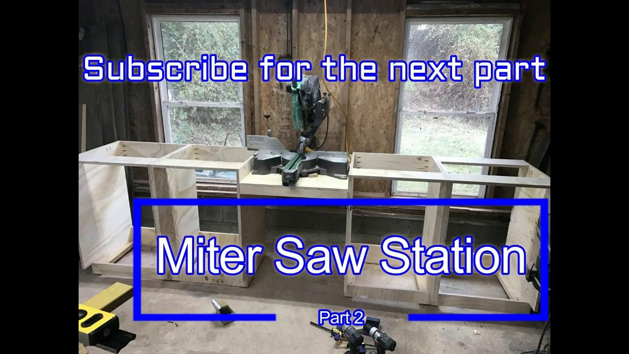 Miter Saw Station Build
