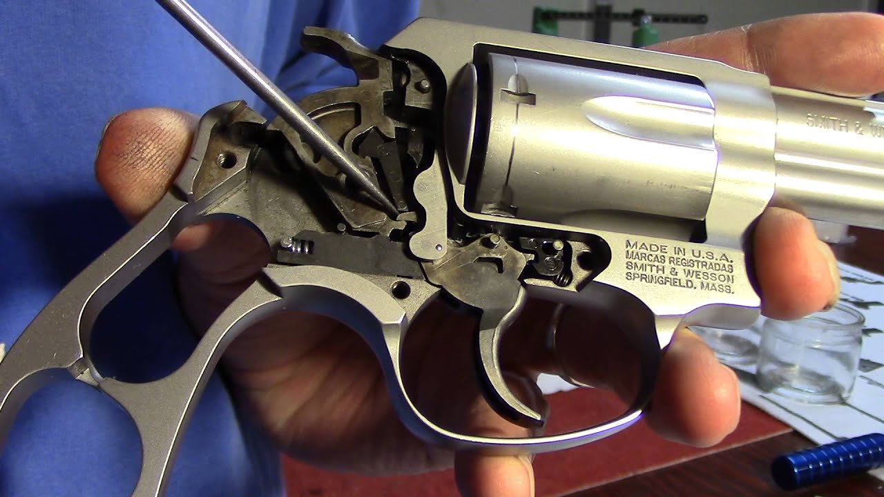 Smith & Wesson Model 60, Hammer Removal