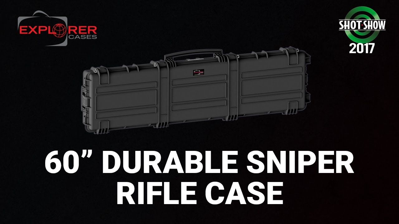 Explorer Cases USA Extra-Long Sniper Rifle Case - SHOT Show 2017 Day 3