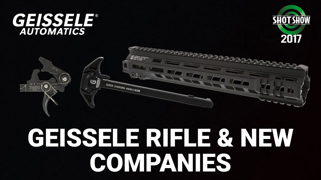 Geissele Rifle & New Companies - SHOT Show 2017 Day 3