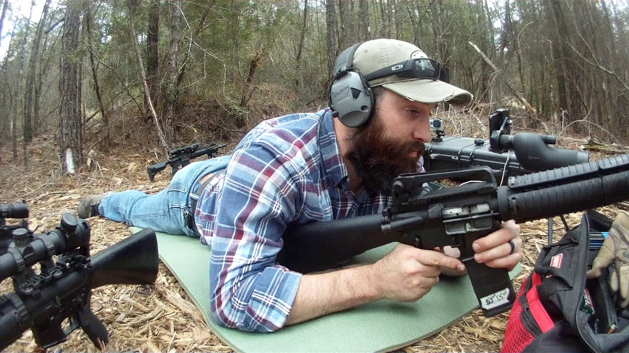 M16A4 Clone with Echo Trigger at 280 yds