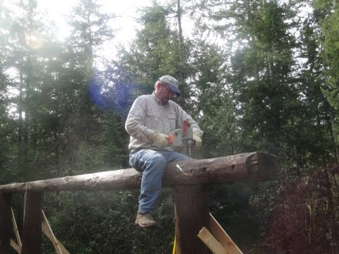 Construction of Joe's Cook Shack / Phase 4 / Boy Scout Camp Parsons