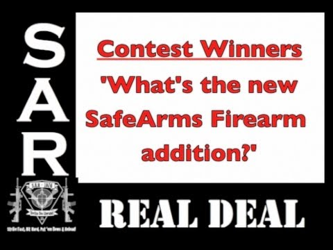Contest Winners of the 'What's the New SafeArms Firearm?'