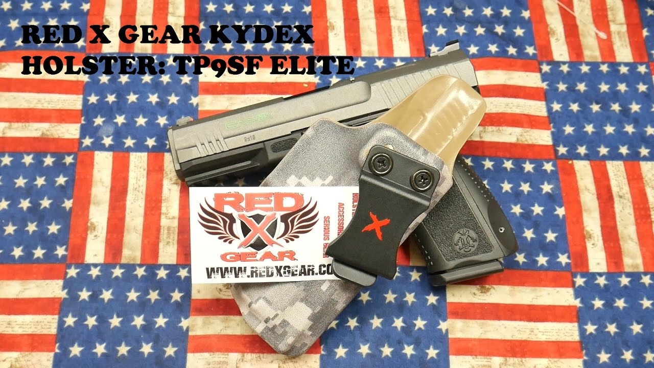 CANIK TP9SF ELITE: RED X GEAR HOLSTER