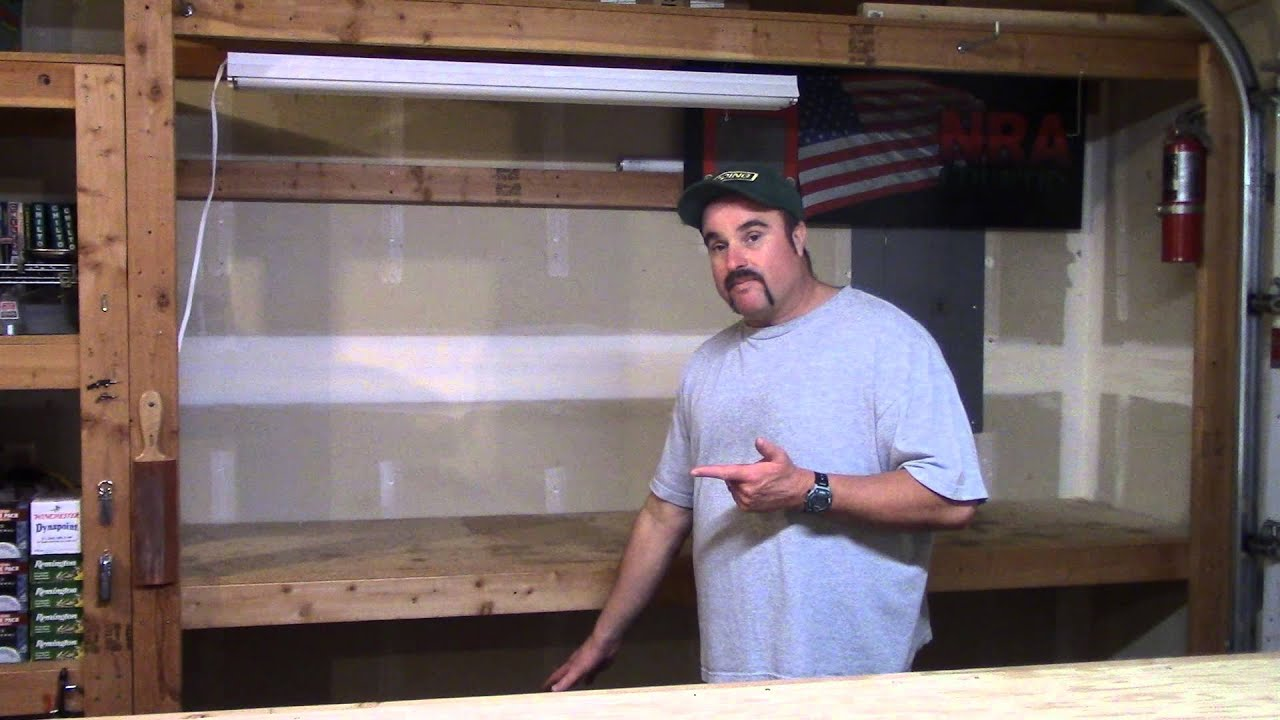 How to Build A Reloading Bench, Video 2