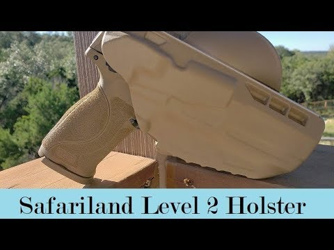Safariland Level-2 Retention Holster