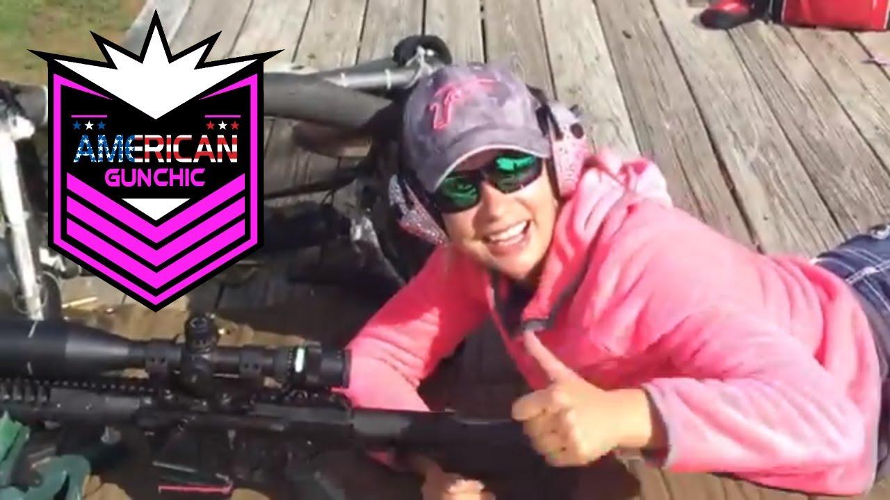 My First 1000 yd Shot  (Part 2) Long Range Shooting w/girls by Beachin Tactical