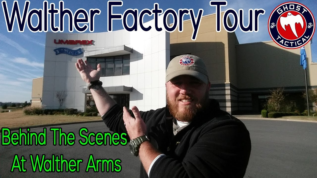 Behind The Scenes at Walther Arms:  Special Tour of the Facility