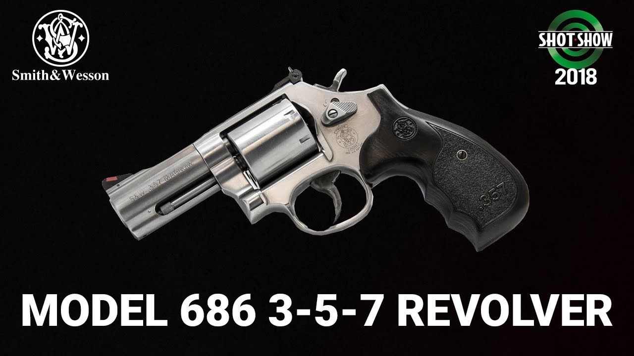 Smith & Wesson Performance Center Model 686 Plus 3-5-7 Revolver - SHOT Show 2018 Day 3