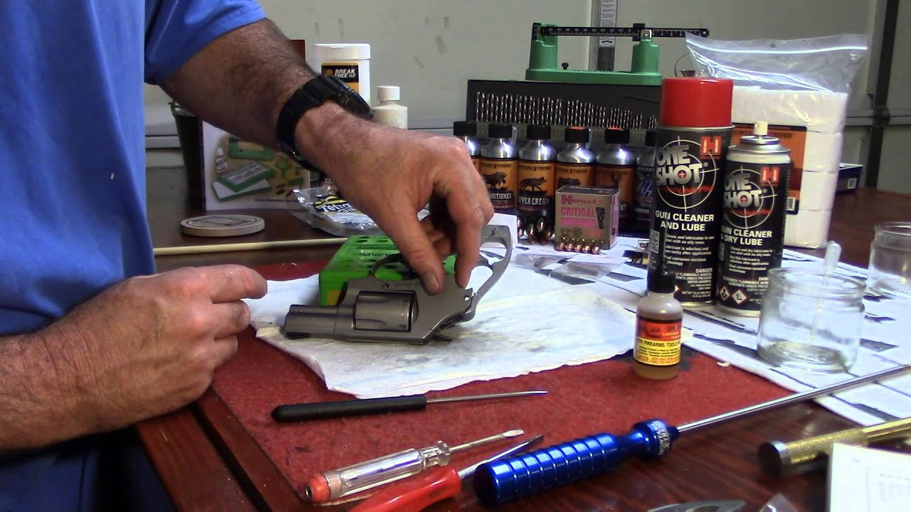Smith & Wesson Model 60, Side Plate Install with Ease