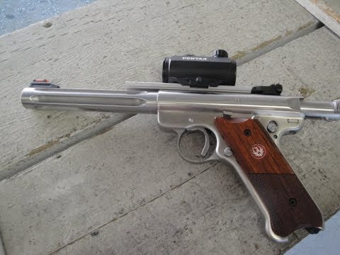 Ruger Mark III at the Range
