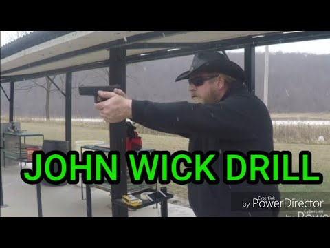 John Wick Drill of the Month Glock 31C. 357sig