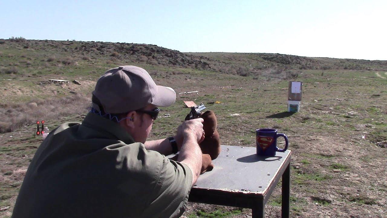 Beginning Reloading, Video 57. Bench Resting the Ruger Blackhawk Revolver