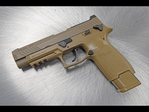 Sig Sauer Introduces the M17 Air Pistol