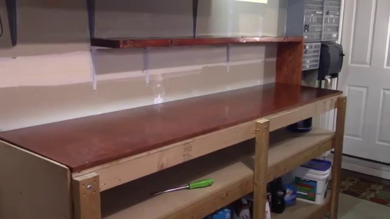 Upgrade This Old Bench, Video 14, Bench Tops Stained and Positioned
