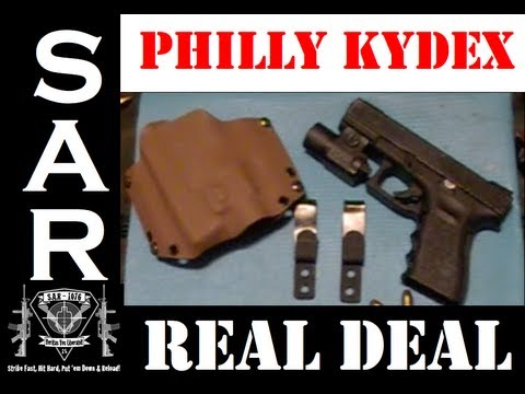 Package in the Mail! Unboxing & Review Custom Kydex Holster by PhillyEDC