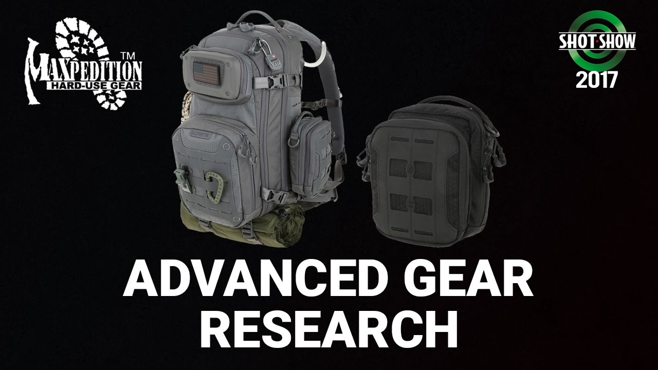 Maxpedition Advanced Gear Research - SHOT Show 2017 Day 1