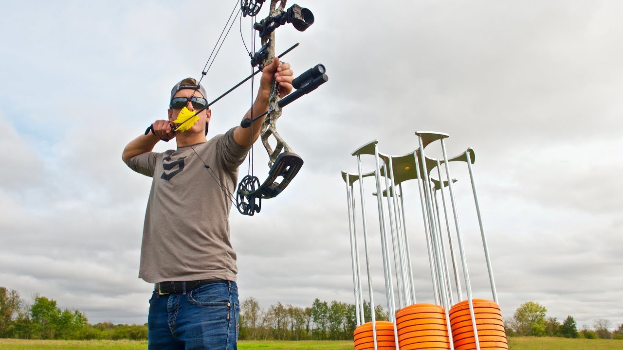 Archery Trick Shots 🏹 Prime Logic Compound Bow | Gould Brothers