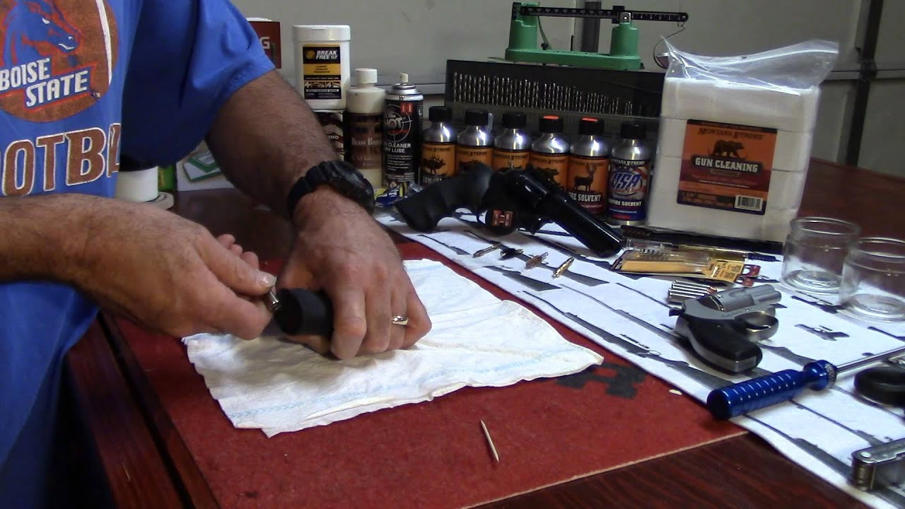 Ruger GP100, Removing the Grips and Mainspring Assembly Survival Style