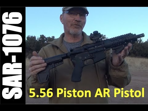 Adam Arms piston AR Pistol - first impressions! *Yes you can shoulder with the Blade!