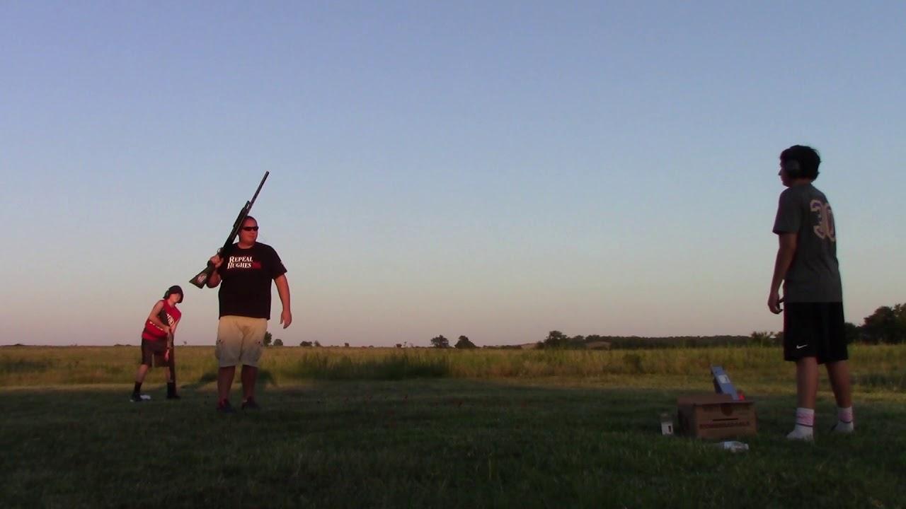 A short video of my sons friends shooting skeet
