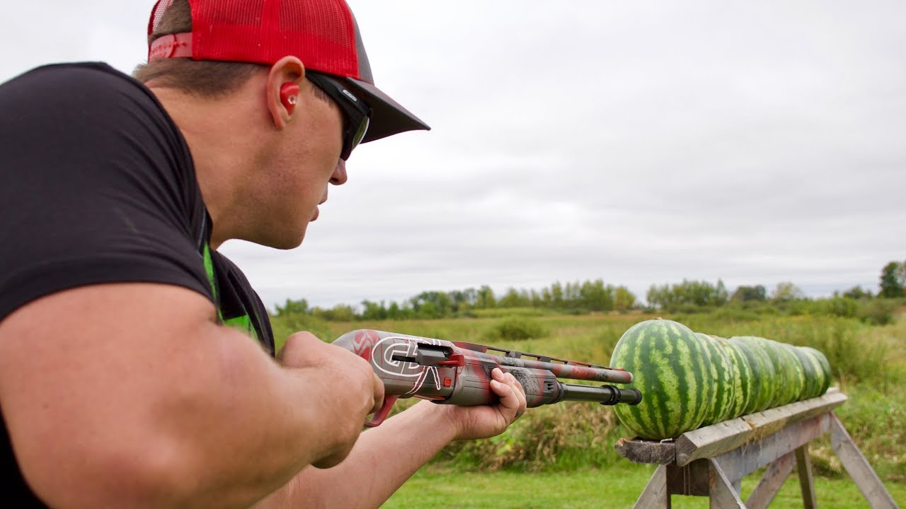 How Many Watermelons Will a Shotgun Shoot Through? | Gould Brothers