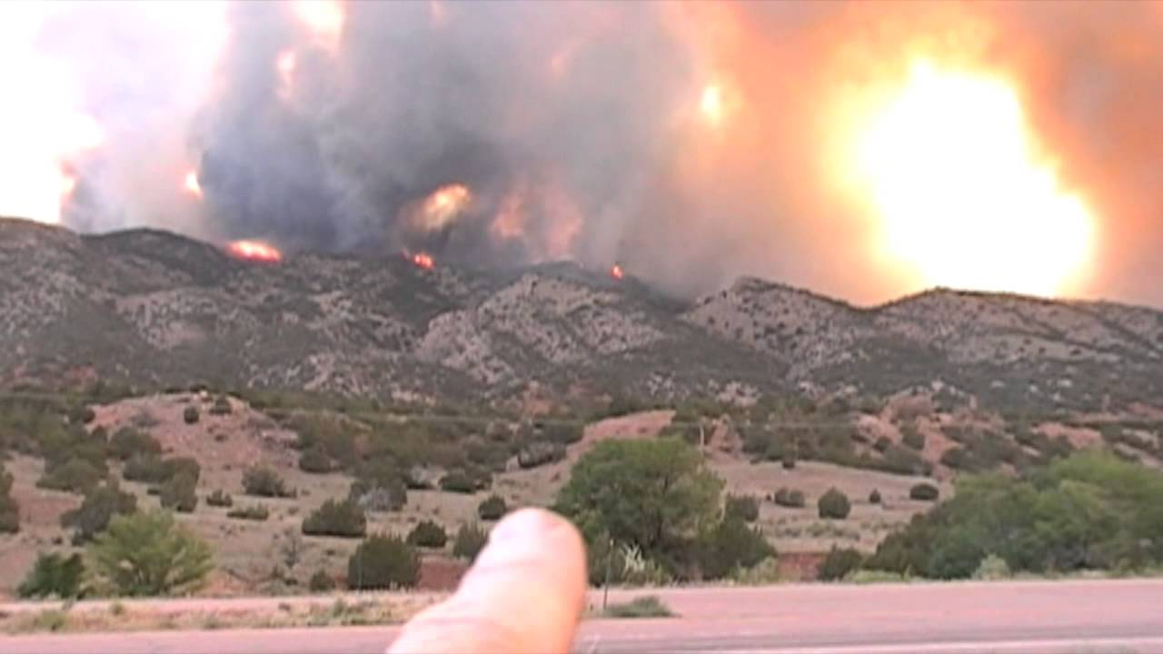 Video footage: Royal Gorge/Canon City 6 Fires in Colorado