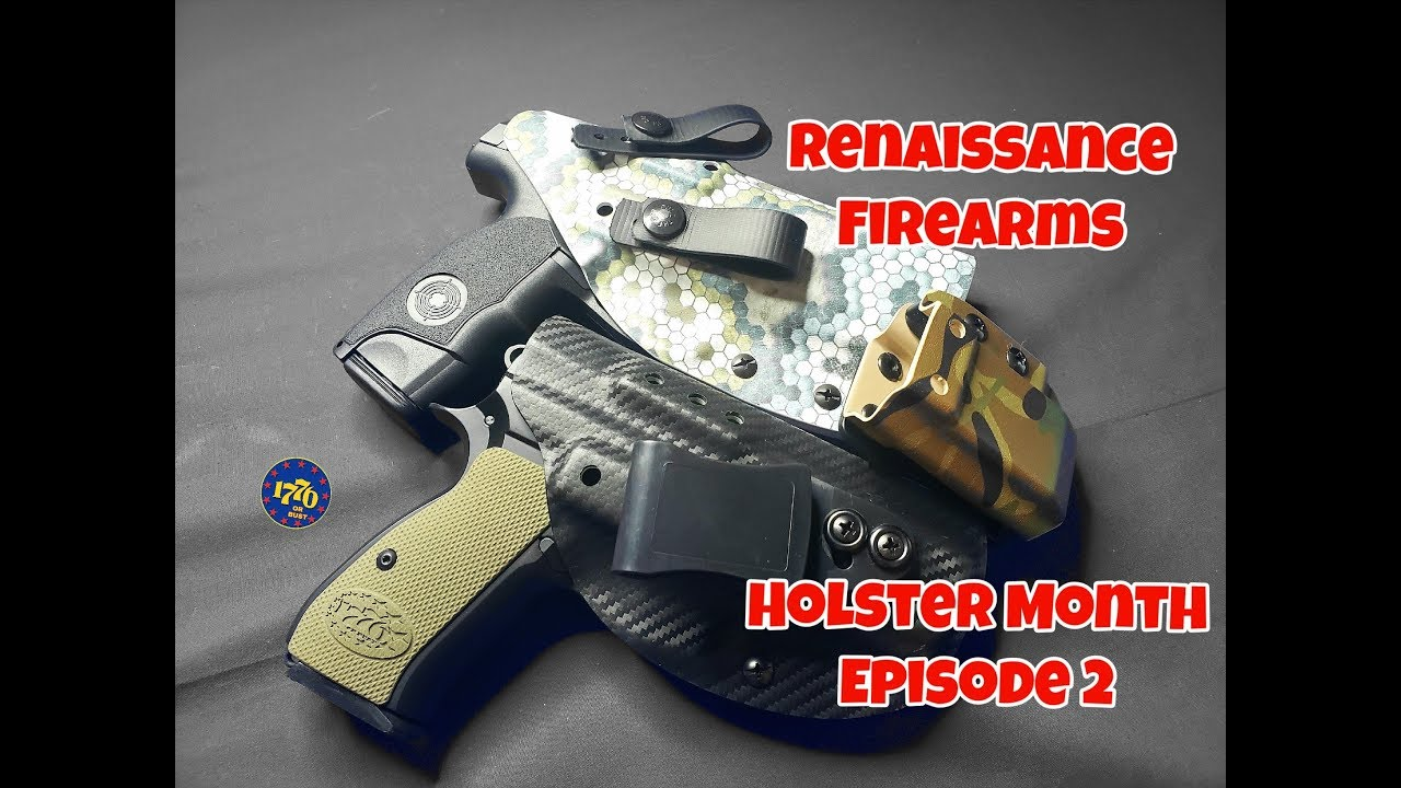 Renaissance Holsters: Holster Month Episode 2